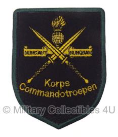 KCT Korps Commandotroepen embleem - 8 x 6 cm