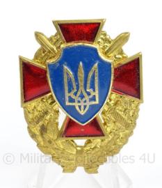 Oekrainse leger insigne - afmeting 3,5 x 5 cm - origineel