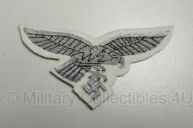 Luftwaffe zomer borstadelaar - officieren zilver op WIT