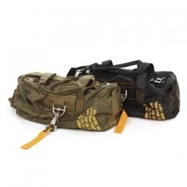 Piloten tas - model 2 parachute tas - groen of zwart