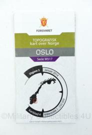 Noorse leger stafkaart OSLO kartblad 4 - origineel