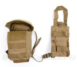 Korps Mariniers en Defensie Molle medische tas met insert en emergency Knife SARC Lite - EVAC IFAK bag - 18 x 8,5 x 4 cm - licht gebruikt - origineel