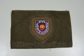 DDR armband Donkergroen - Zivil Verteidigung - origineel