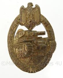 WO2 Duitse Panzerkampfabzeichen - brons - TOPSTAAT - origineel