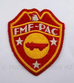 USMC Marines embleem - FMFPAC Fleet Marine Force Pacific - 7,5 x 9  cm - origineel