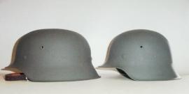 Grootse en kleinste Duitse helm