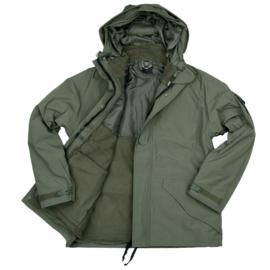 Commando Parka met uitneembaar Fleece vest - meerdere maten - GROEN