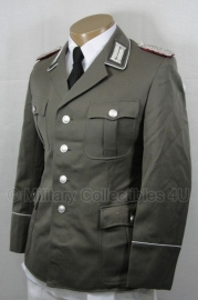 DDR officiers uniform gabardine (wo2 Duits model)- MET insignes - meerdere maten - origineel