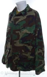 US Army uniform jas woodland camo - zeer licht gebruikt - maat Medium-Long - origineel
