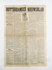 Krant Rotterdamsch Nieuwsblad van 23 juli 1918 - origineel