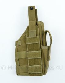 Blackhawk holster MOLLE mod with leg mount custom 37CL39 en 40MLH 1 Coyote tan - NIEUW in verpakking - origineel