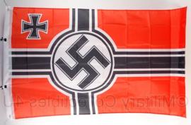 Reichskriegsflagge Oorlogsvlag - polyester - 90 x 150 cm