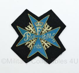 Pour le Merite Duits/ Frans insigne - nieuw gemaakt