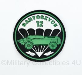 Poolse leger 12e bartoszyce embleem - origineel