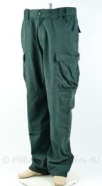5.11 Tactical Series contractor trouser groen - Maat Large-Long - origineel