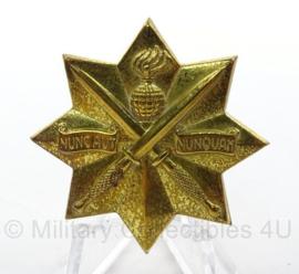 MVO schouder epaulet insigne  - KCT Korps Commando Troepen - Zeldzaam - afmeting 4 x4 cm - origineel