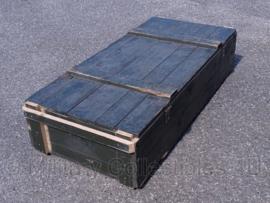 Zware lage legerkist - 130 x 60 x 28 cm - origineel