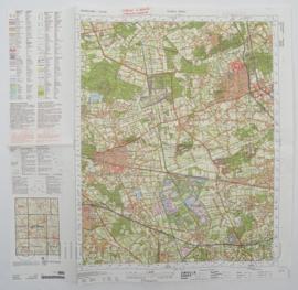 KL Nederlandse leger Topografische kaart 52 West Venlo 1:50 000 - 60 x 57 cm - origineel