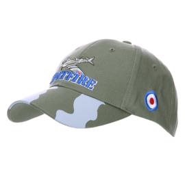 Baseball cap groen met embleem - Spitfire