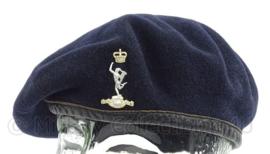 Britse leger baret met Royal Corps of Signals insigne - maat 54 - origineel