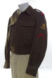Nederlandse Battledress MVO Regiment stoottroepen Soldaat 2e klasse  -  maat 48   -  origineel