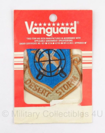 Vuanguard embleem Desert Storm - in originele verpakking - 10 x 9 cm - origineel