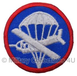 US WO2 Airborne manschappen cap badge - vanaf voorjaar 1943- replica