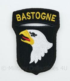 "WO2 US Army 101st Airborne Division ""Bastogne"" patch met klittenband- 8,4 x 6 cm"