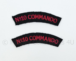 No. 10 Commando straatnamen paar - kleine versie - 7 cm breed