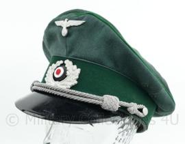 Wo2 Duitse Gebirgsjager officier pet - omgebouwde net naoorlogse pet - maat 57