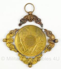 Medaille De Vroolijke Strijders 1908-1931 - internationale wedstrijd 1931 - afmeting 9 x 9 cm - origineel