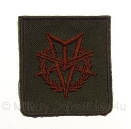 """KL Koninklijke Landmacht """"MLV, standaard"""" onderscheiding - 4,5 x 5 cm - origineel"""