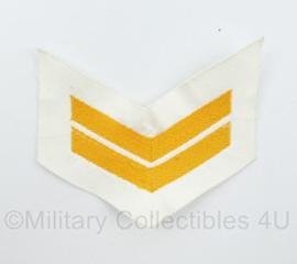 Koninklijke Marine rang  - 11 x 9 cm - origineel