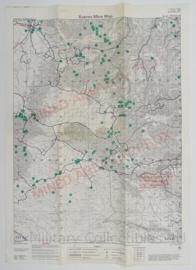 Leger Topografische kaart Kupres Mine Map - 65 x 47 cm - origineel