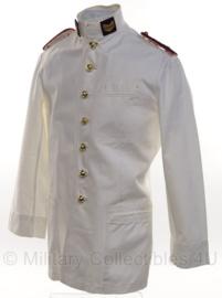 Korps Mariniers zomer uniform jas Sergeant der Mariniers wit - zeldzaam - maat XS - origineel