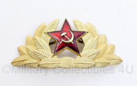 USSR Russische leger pet insigne Officier  - 9 x 4 cm - origineel