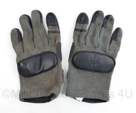 Defensie HWI Combat Glove Leder met Kevlar - gedragen - maat XL - origineel