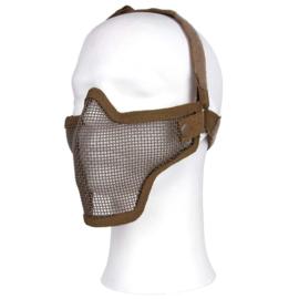 Airsoft half gezichtsmasker - Coyote