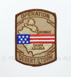 US Operation Desert storm Golfoorlog embleem - 10,5 x 7,5 cm - origineel