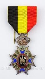 Belgische onderlinge bijstand zilver medaille - Origineel