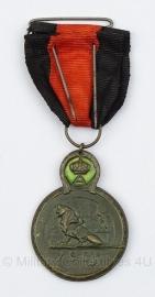 Belgische ijzer ereteken medaille Ysermedaille   - Origineel