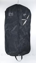 KL Nederlandse leger  kledingtas kledinghoes kledingzak ZWART voor DT en GLT uniform - origineel