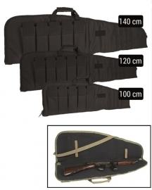 Geweer tas  geweer foudraal - rifle case in 100,120 of 140 cm lengte - Zwart