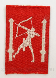 KL Landmacht MVO embleem - Territoriaal Bevelhebber Nederland - 1946/1951 - afmeting 5 x 8 cm - origineel