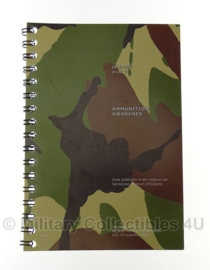 KL Nederlandse leger boekje - Ammunition Awarenes IK 5-137 Druk 7- origineel