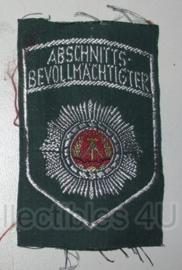 Embleem DDR NVA Polizei Abschnitts Bevollmächtigter - origineel