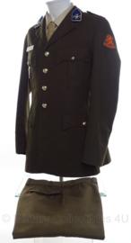 KL Nederlandse leger DT uniform set - 102 eov compagnie electronische oorlogsvoering Verbindingsdienst - maat 51 - origineel