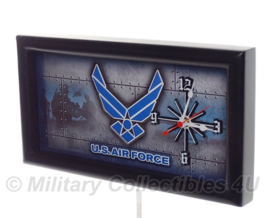 Metalen US Air Force Klok - Made in the USA!