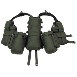 US Tactical Load Bearing backpack vest - Groen - gebruikt