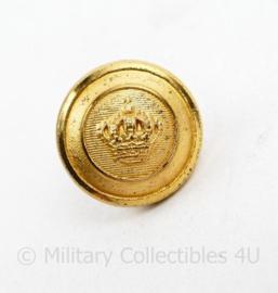 Marine scheepvaart knoop 17 MM goudkleurig - origineel